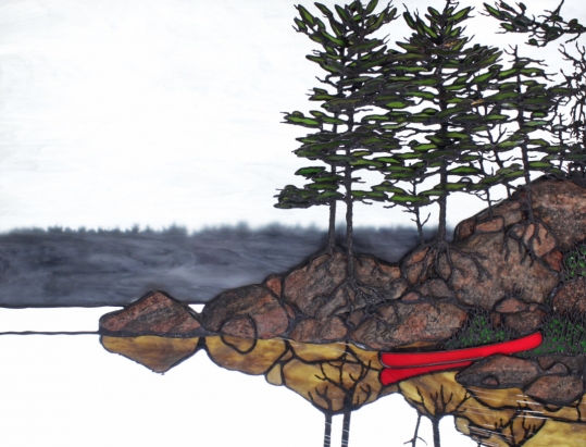 ART DEMO: The Art of Glass and Stone with Peter Rice @ Algonquin Art Centre