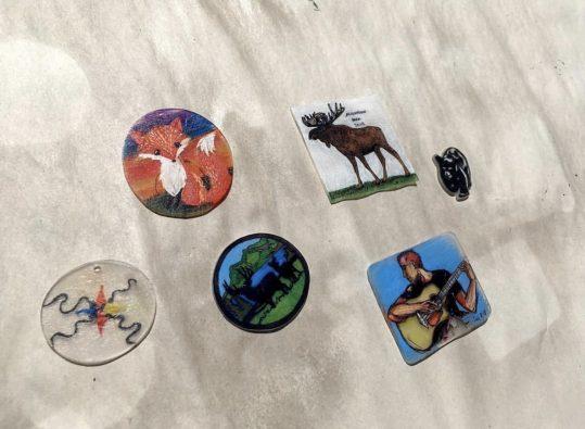 Shrink Magnet Mementos @ Algonquin Art Centre | Algonquin Provincial Park | Ontario | Canada