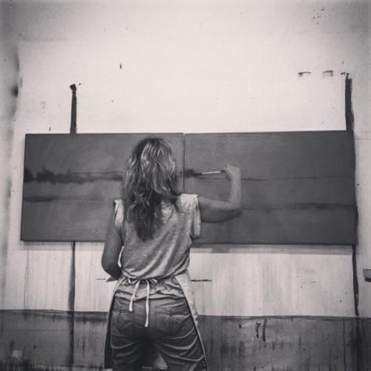 ART DEMO: Artist in Residence Holly Friesen @ Algonquin Art Centre